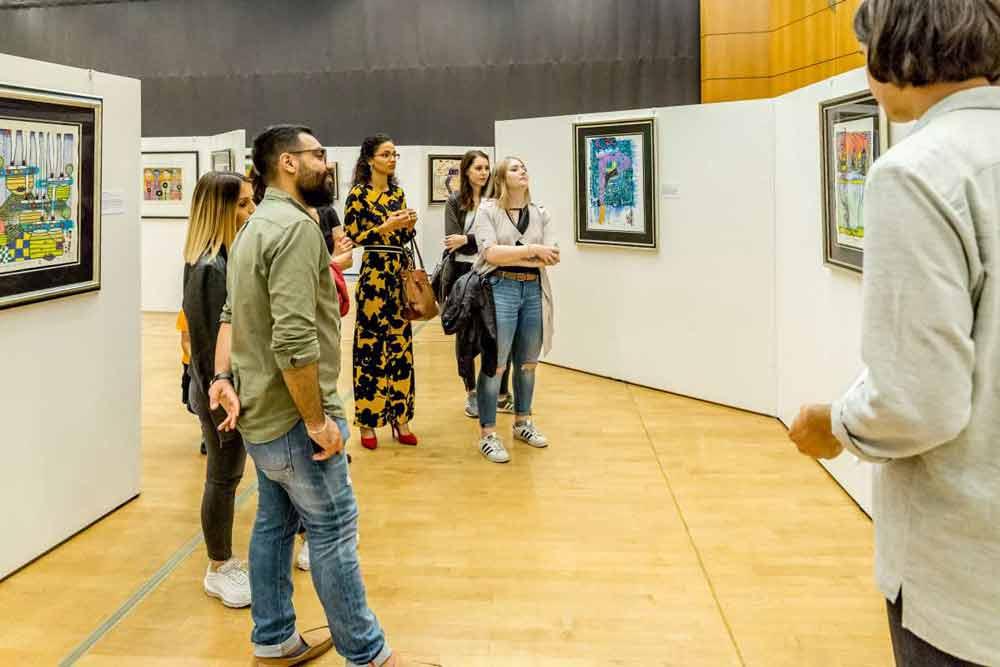 Hundertwasser - der Meister des Stilvollen